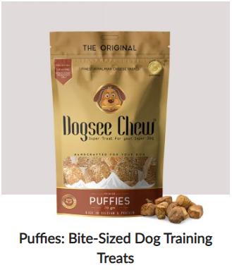natural puppy treats