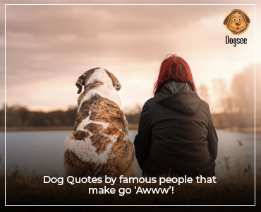 Dog Quotes by Famous People that make go 'Awww'!